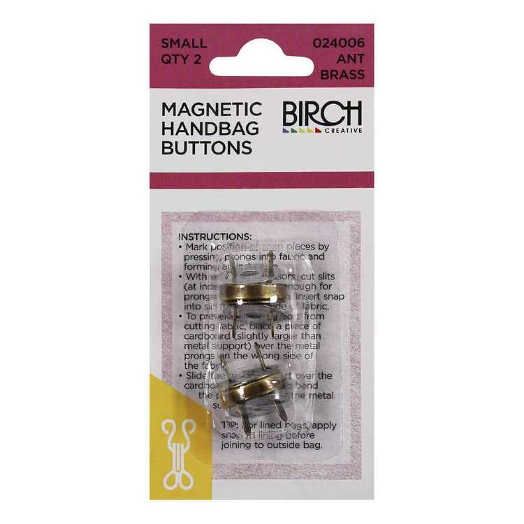 Birch Magnetic Handbag Buttons