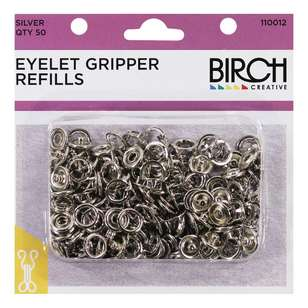 Birch Eyelet Gripper Refills - 50 Pack