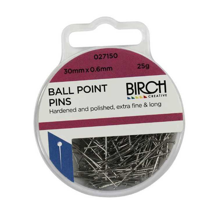 Birch Ball Point Pins