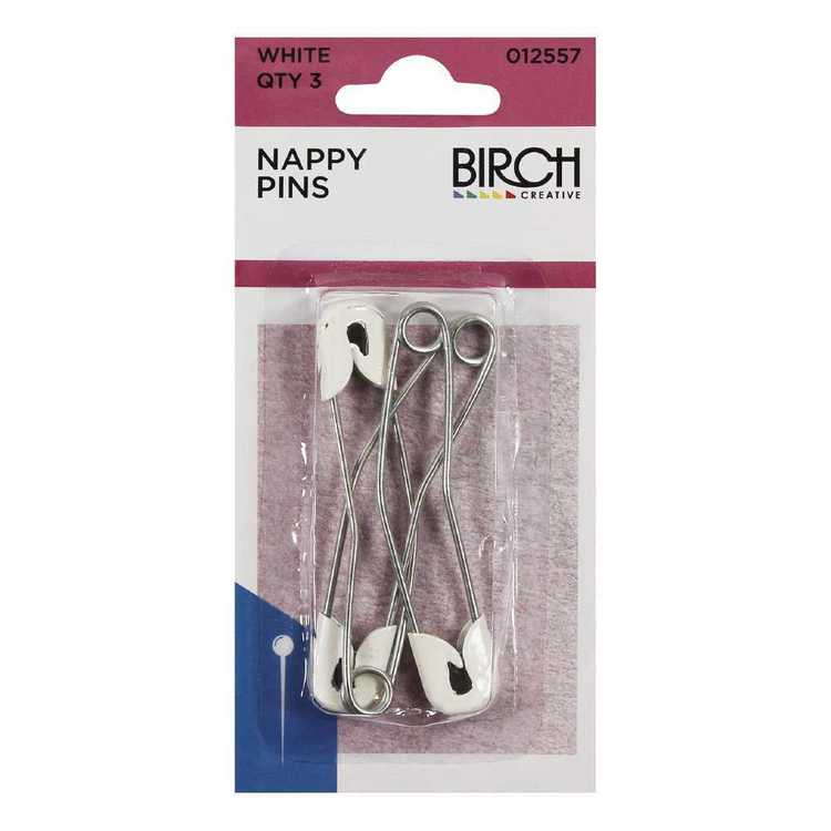 Birch Nappy Pins