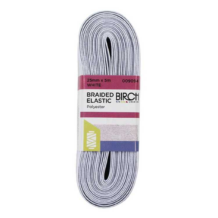 Birch Elastic Braid Hank