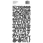 American Crafts Boho Alphabet Stickers Multicoloured