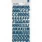 American Crafts Playful Chipboard Alphabet Stickers Multicoloured