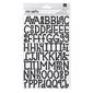 American Crafts Shortcake Alphabet Stickers Multicoloured