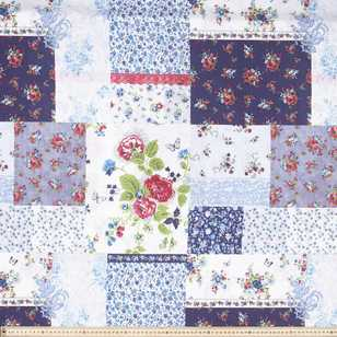 Country Garden Patchwork Fabric