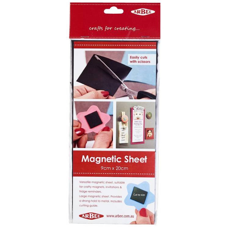 Arbee Magnetic Sheet 9 x 20 cm