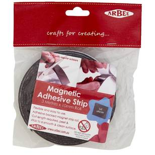 Arbee Magnetic Adhesive Strip