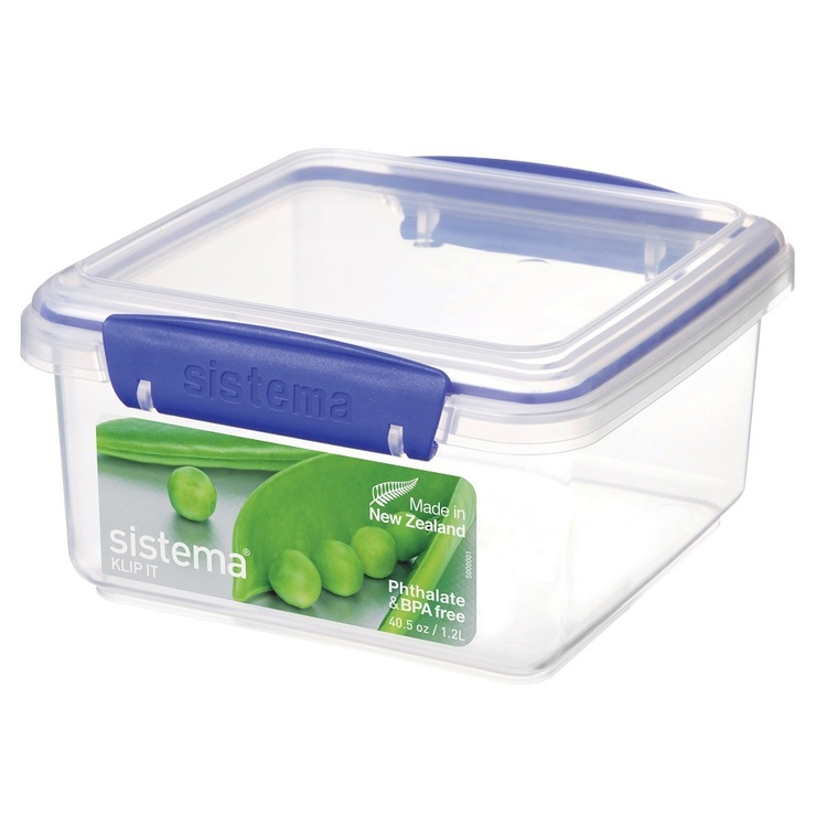 Sistema Klip It Lunch Plus Container Clear