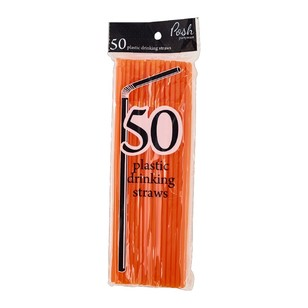 Posh Partyware Flexible Plastic Straws
