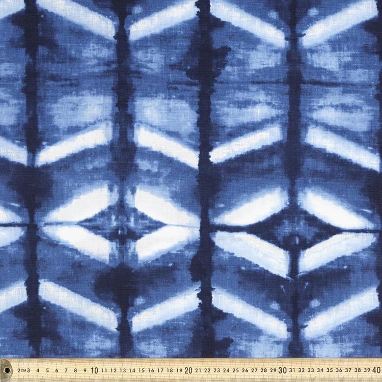 Prints Charming Chevron Cotton Linen