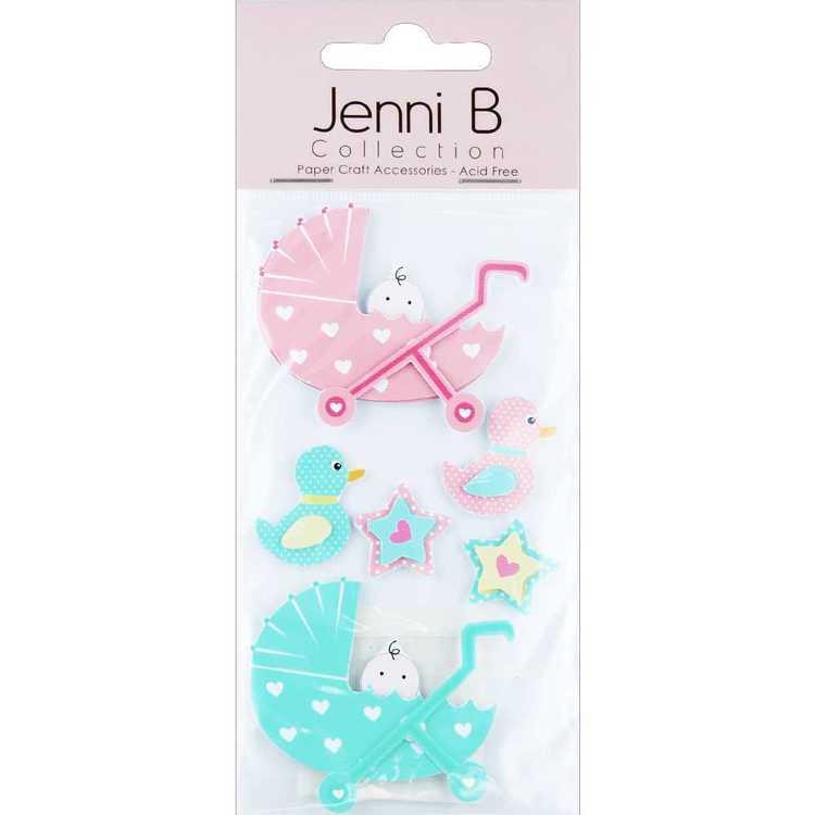 Jenni B Baby Prams Stickers