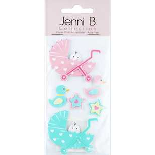Jenni B Baby Prams Stickers