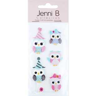 Jenni B Baby Owls Stickers