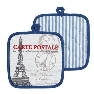 In-Habit Paris Stamp Pot Holders