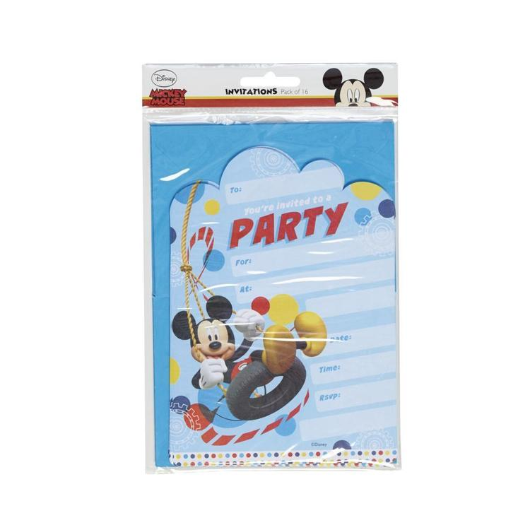 Artwrap Disney Mickey Invites Multicoloured