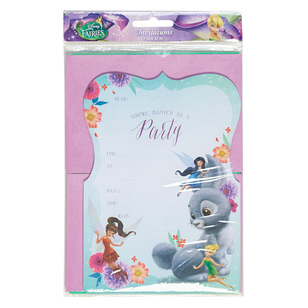 Disney Fairies Invites