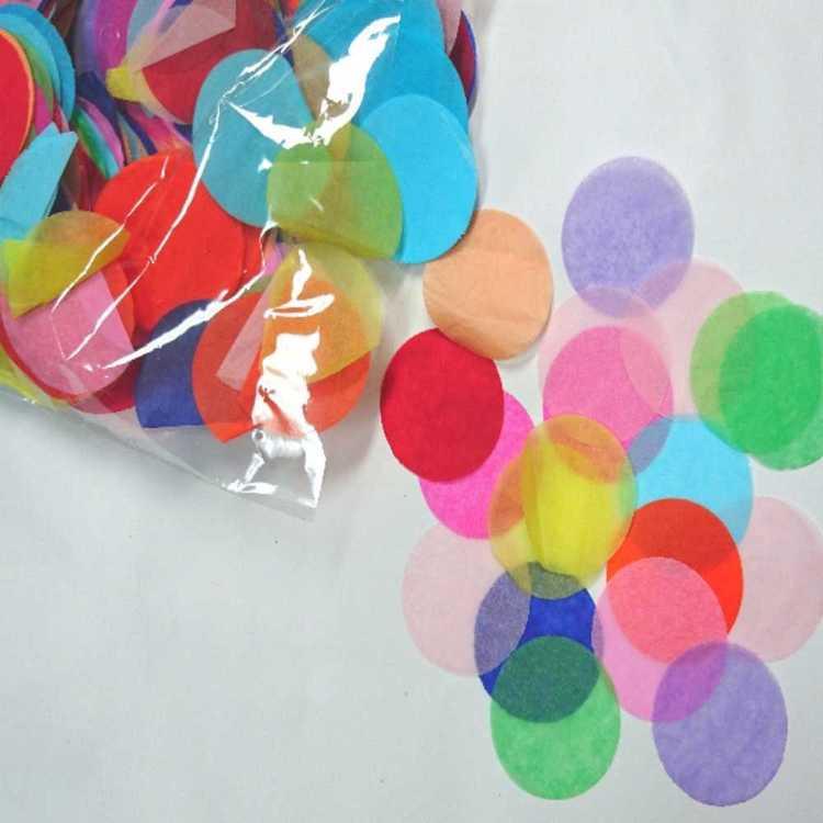 Tissue Confetti Circles