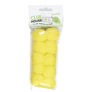 Club House Pom Poms 10 Pack