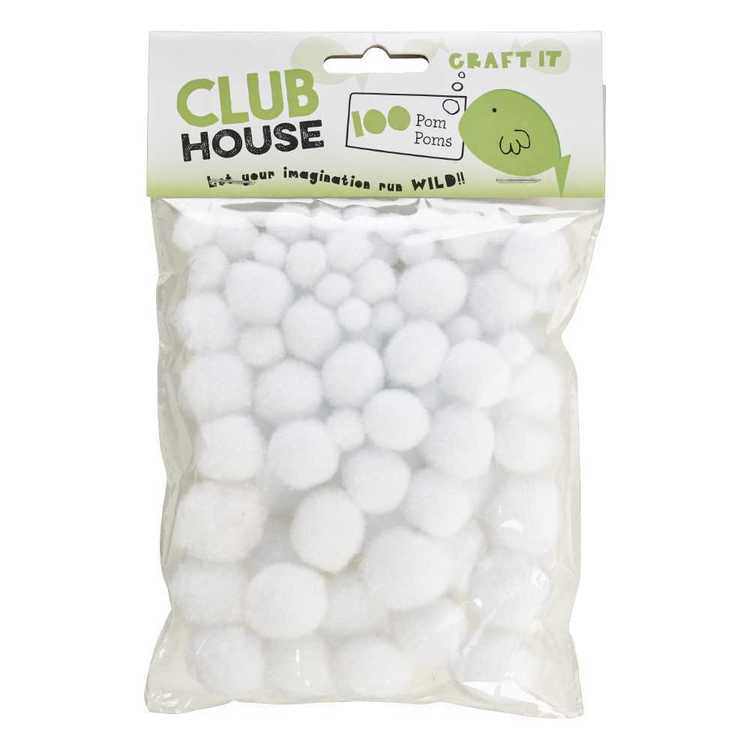 Club House Assorted Pom Poms 1