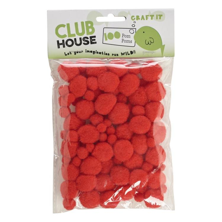 Club House Assorted Pom Poms 3
