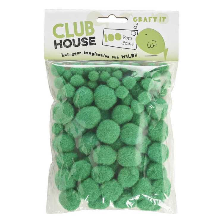 Club House Assorted Pom Poms 4