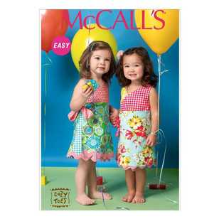 McCall's Pattern M7143 Children & Toddler's Dresses