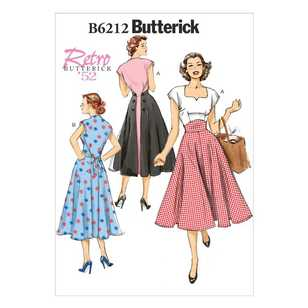 Butterick Pattern B6212 Misses' Dress
