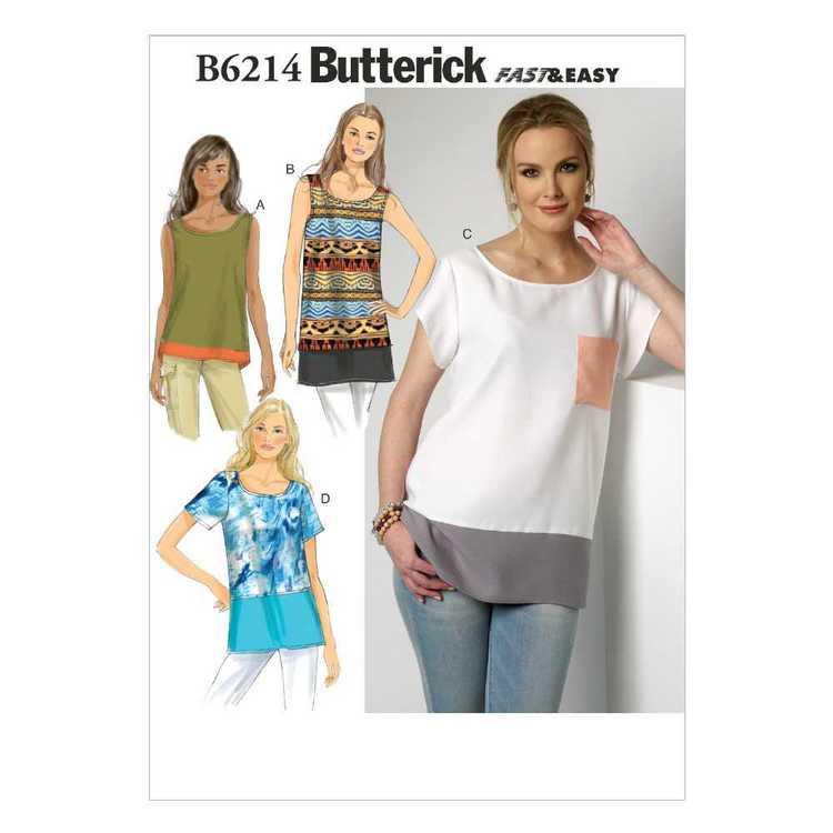 Butterick Pattern B6214 Misses' Top