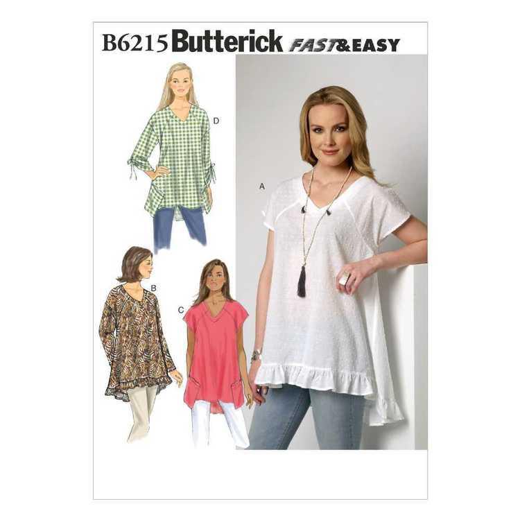 Butterick Pattern B6215 Misses' Top