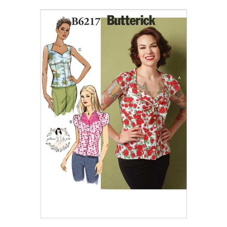 Butterick Pattern B6217 Misses' Blouse