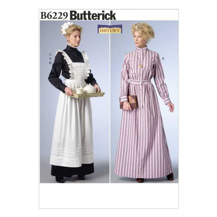 Butterick Pattern B6229 Historical Maid Costume