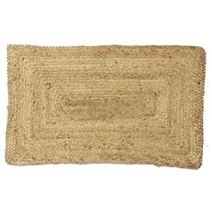 Braided Jute Mat