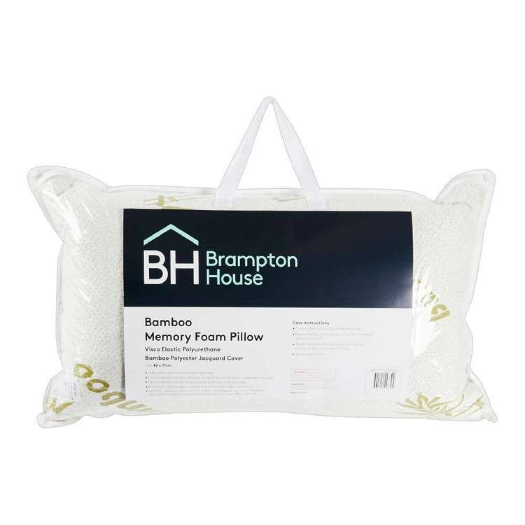 Brampton House Bamboo Memory Foam Pillow