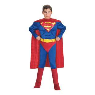 DC Comics Luxe Superman Kids Muscle Costume