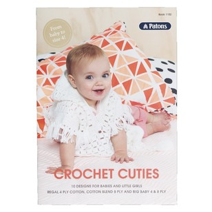 Patons Crochet Cuties Pattern Book 1102
