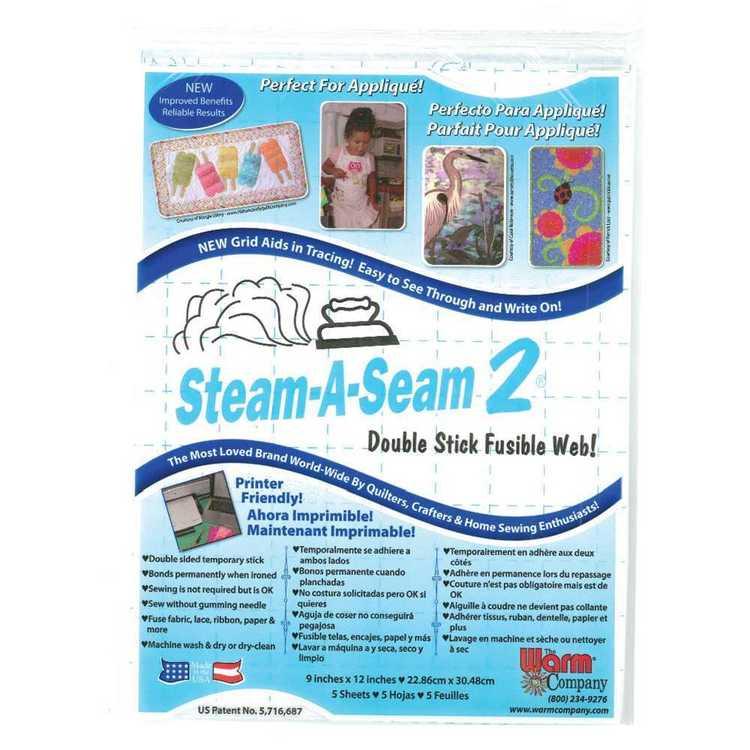 Birch Steam A Seam Double Sheets