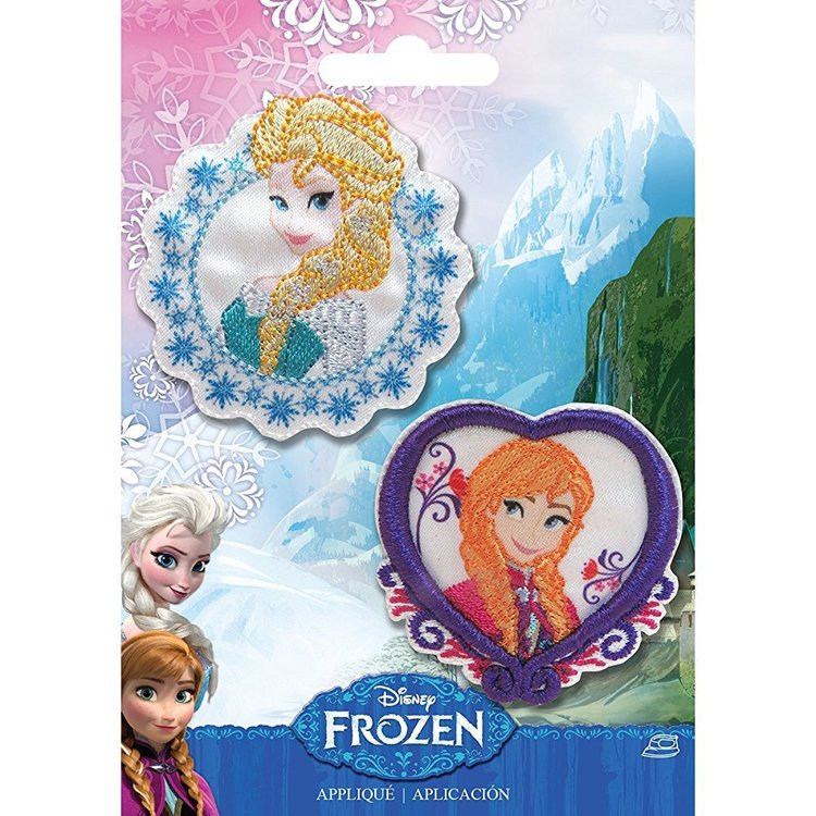 Disney Frozen Elsa And Anna Appliques