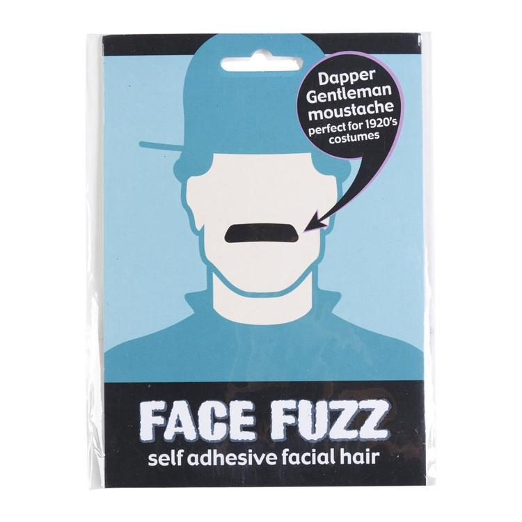 Face Fuzz Dapper Gentleman Black