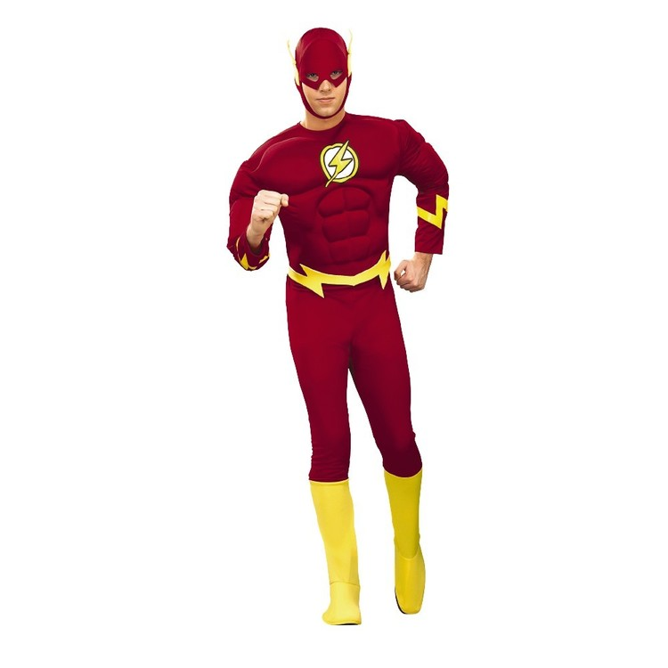 DC Comics The Flash Deluxe Adult Costume