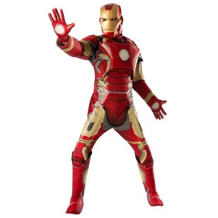 Marvel Avengers Iron Man Deluxe Adult Costume