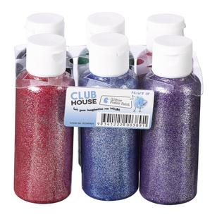 Club House Kids Glitter Poster Paints