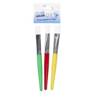 Club House Kids Paint Brushes