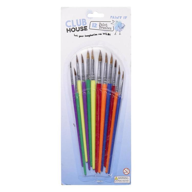 Club House Kids Brushes 12 Pack