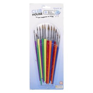 Club House Kids Brushes 12 Pack