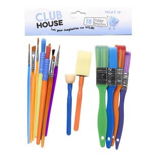 Club House Kids Hobby Brush Set