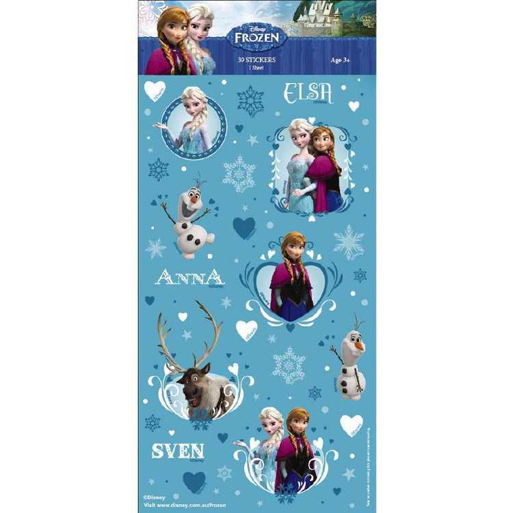 World Greetings Disney Frozen II Stickers