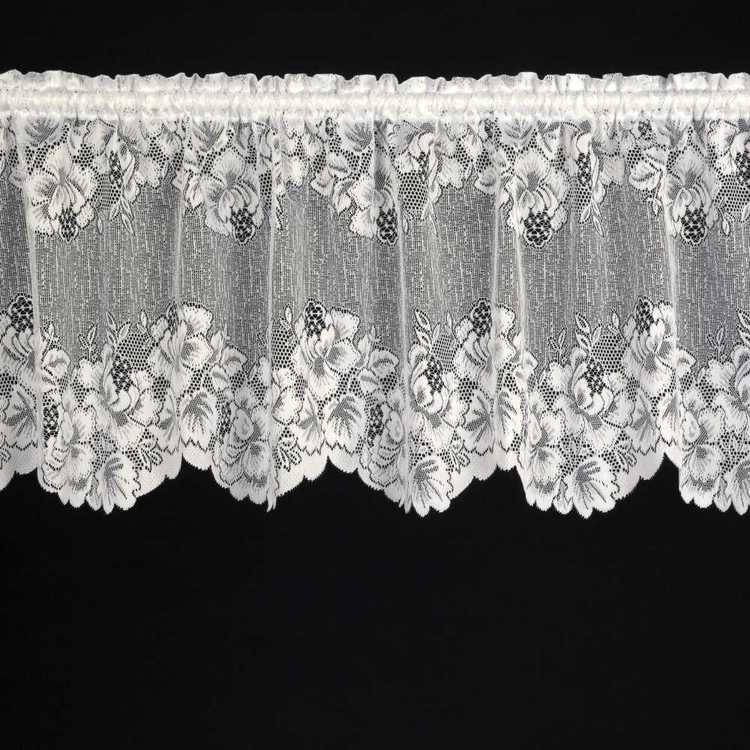 Caprice Blossom Valance Continuous Sheer