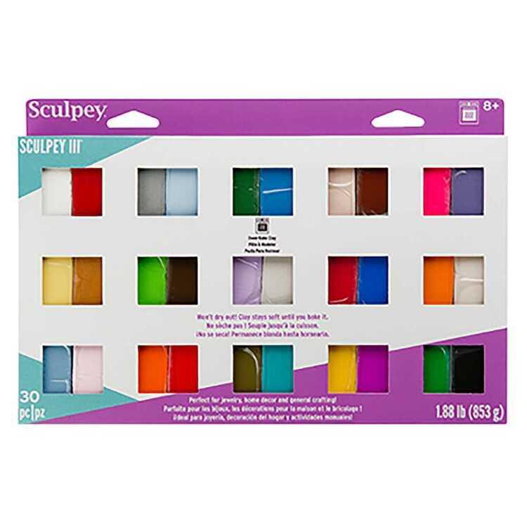 Sculpey III Sampler 30 Pack
