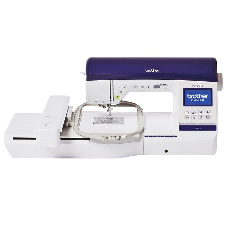 Brother NV2600 Embroidery Sewing Machine Multicoloured