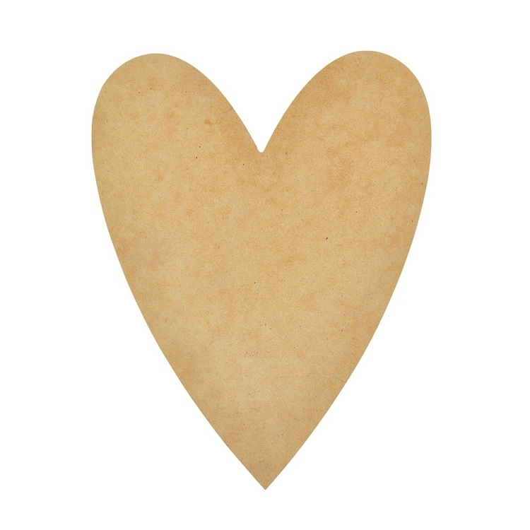 Kaisercraft 28 cm Letter Heart